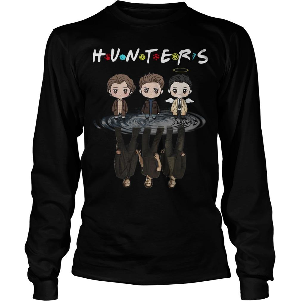 Supernatural Chibi Water Reflection Hunters Longsleeve