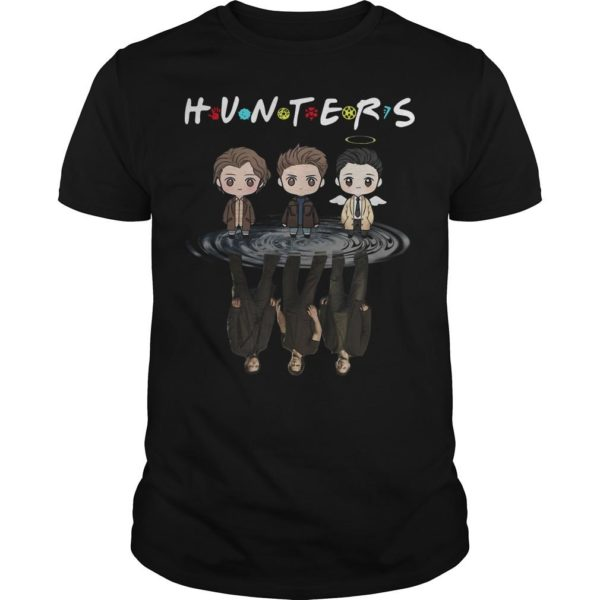 Supernatural Chibi Water Reflection Hunters Shirt