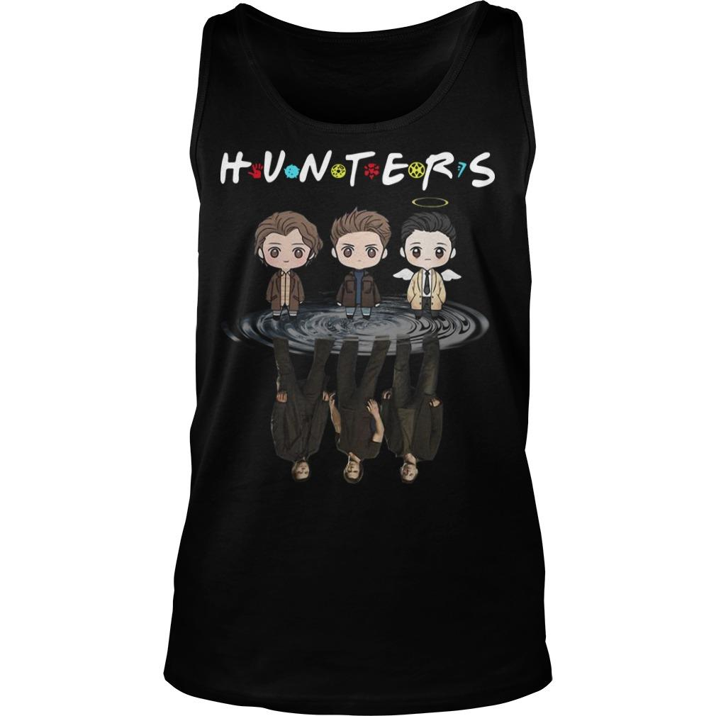 Supernatural Chibi Water Reflection Hunters Tank Top