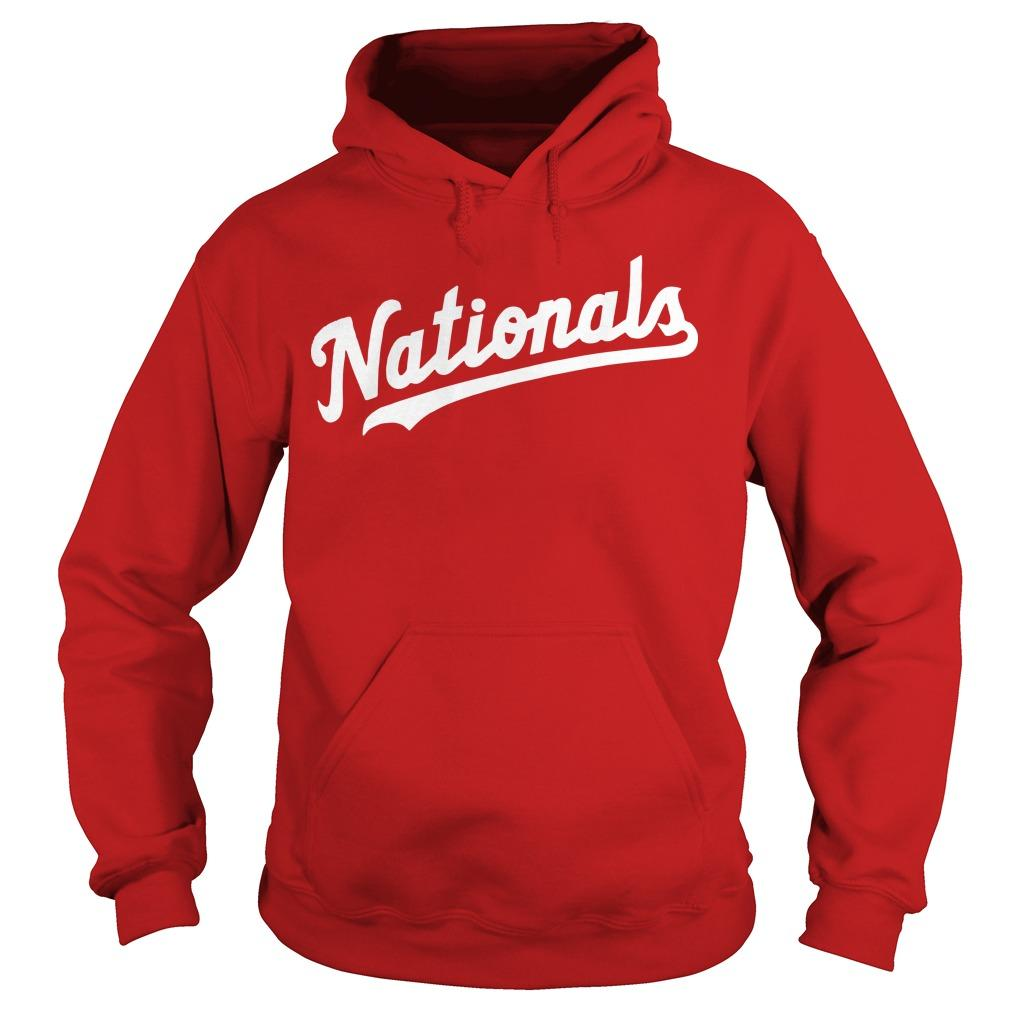 The Capitals Washington Nationals Hoodie