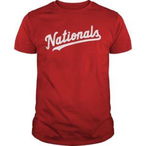 The Capitals Washington Nationals Shirt