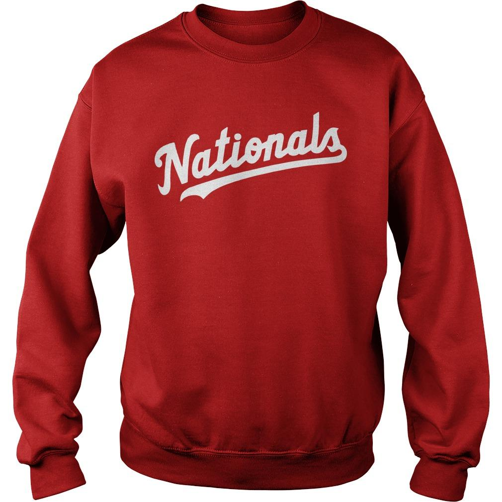 The Capitals Washington Nationals Sweater
