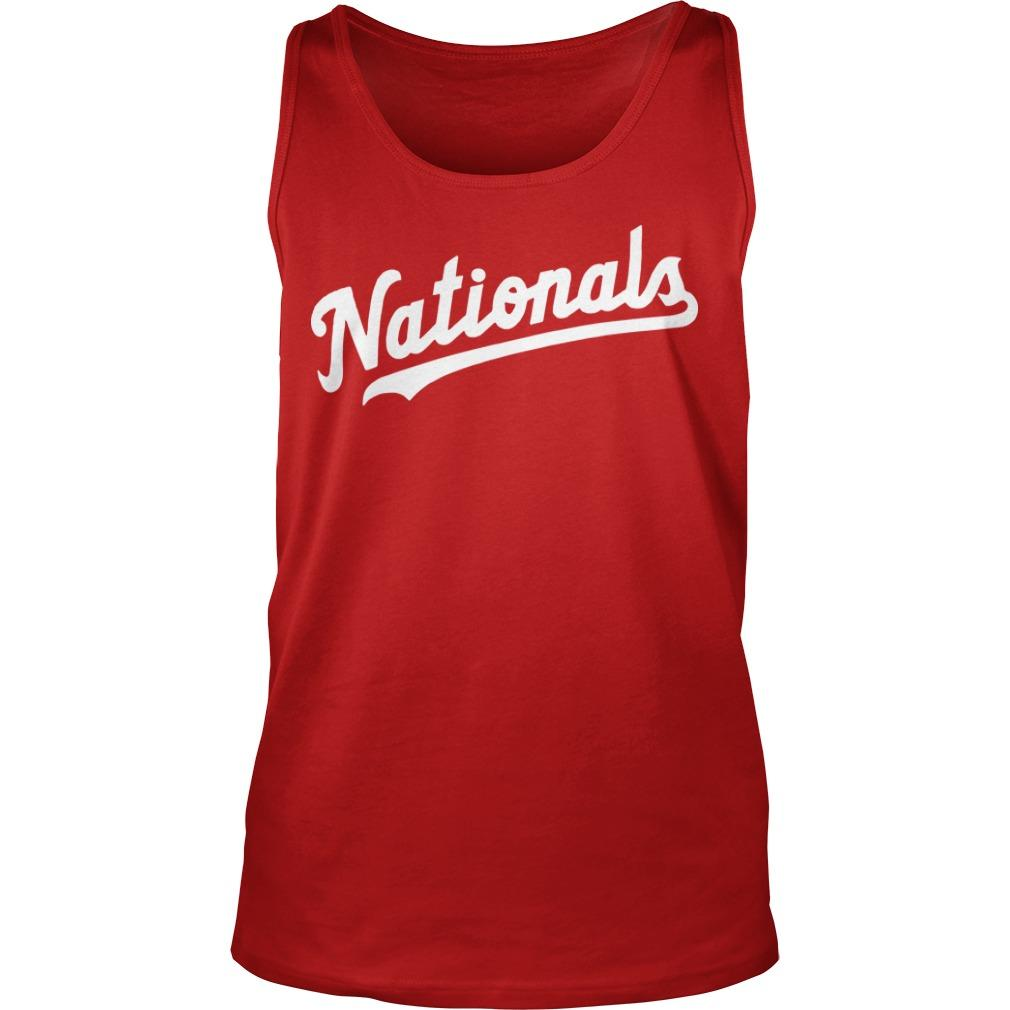 The Capitals Washington Nationals Tank Top