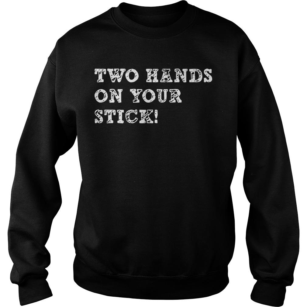 Two Hands On Your Stick Sweater