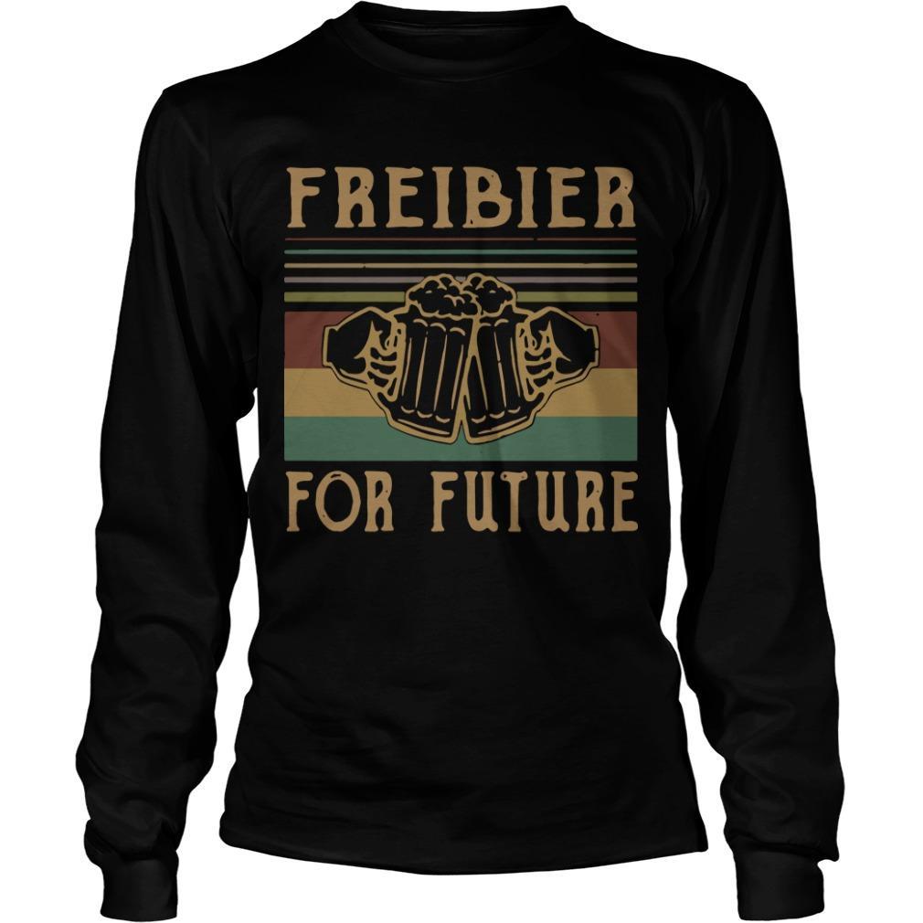 Vintage Beers Freibier For Future Longsleeve