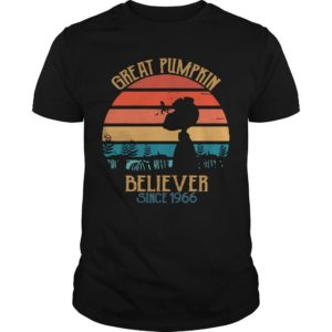 Vintage Great Pumpkin Believer Since 1966 Shirt