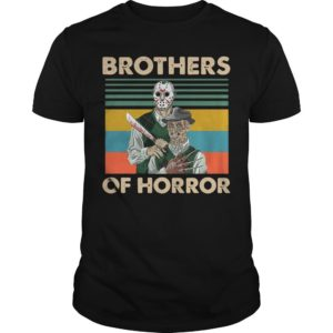 Vintage Jason Voorhees Freddy Krueger Brothers Of Horror Shirt