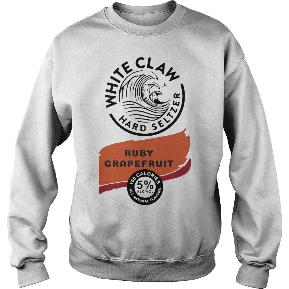 White Claw Hard Seltzer Ruby Grapefruit Sweater