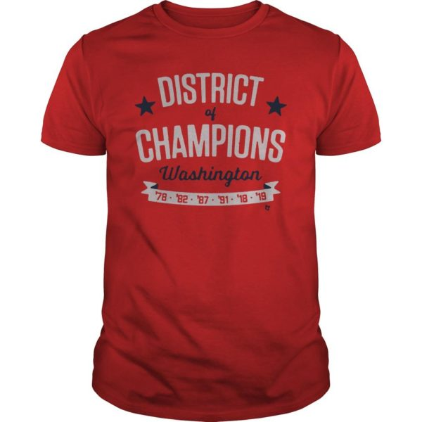 2019 World Series Washington Nationals Championship Shirt