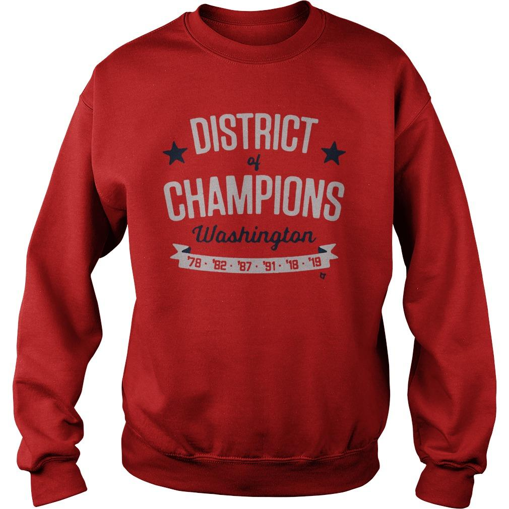 2019 World Series Washington Nationals Championship Sweater