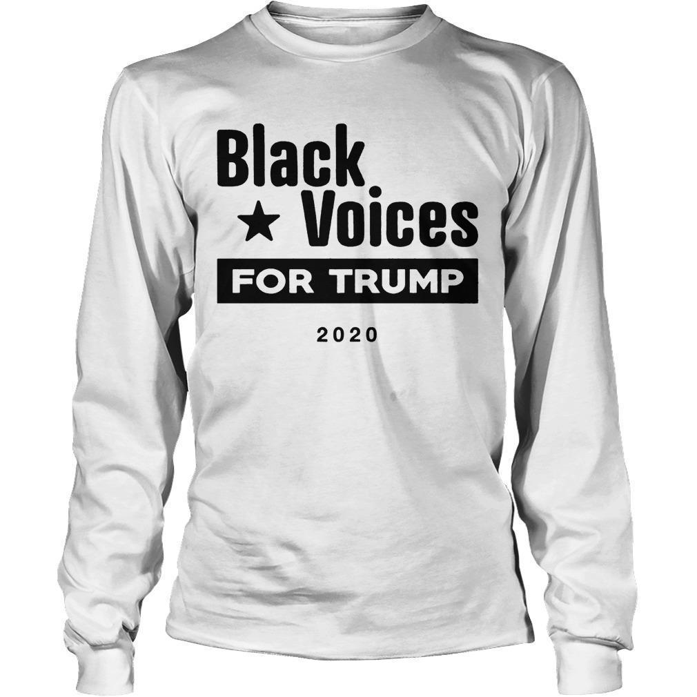 Black Voices For Trump Longsleeve