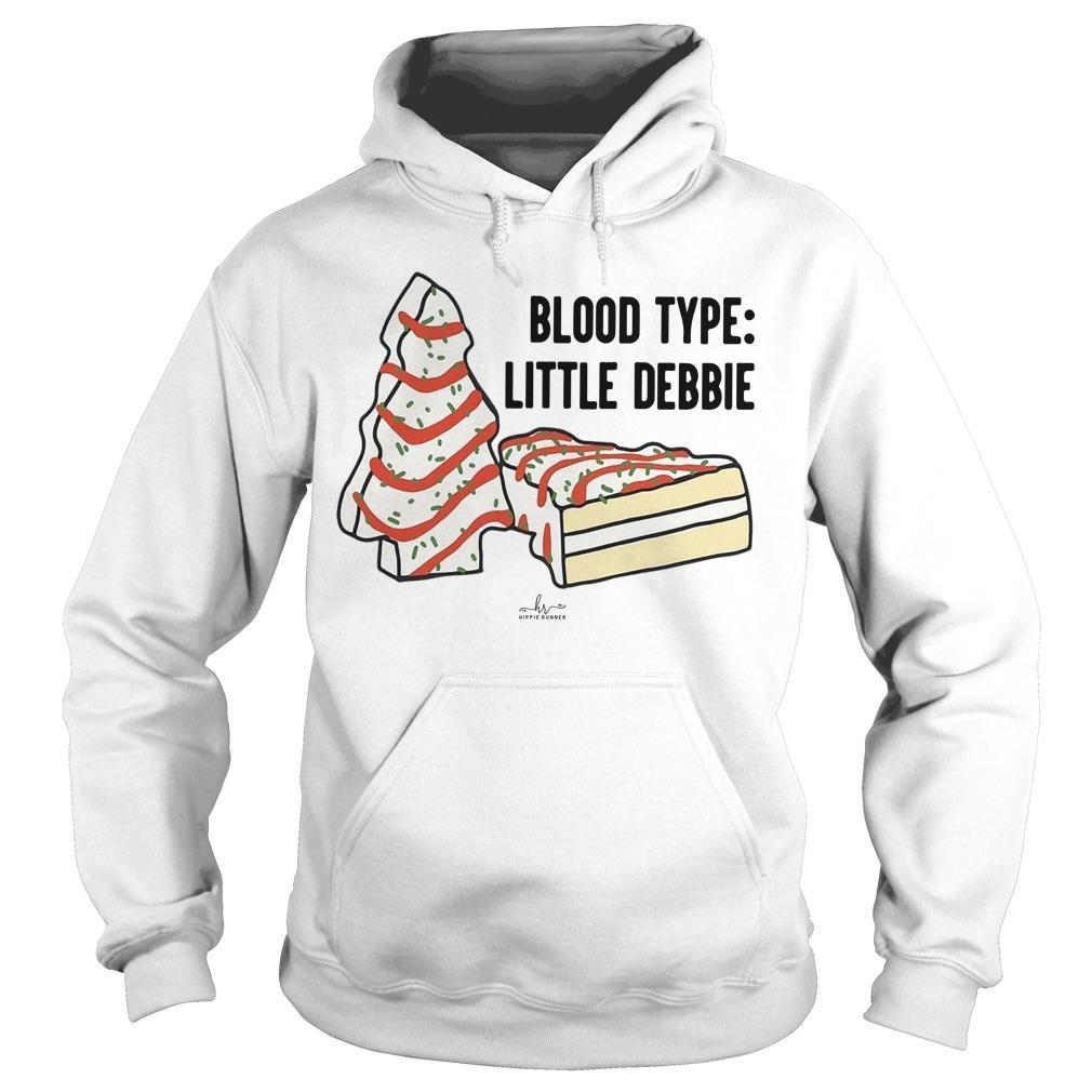 Blood Type Little Debbie Hoodie