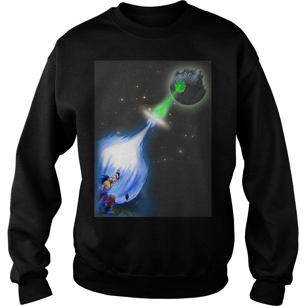 Christmas Star Wars X Songoku Sweater