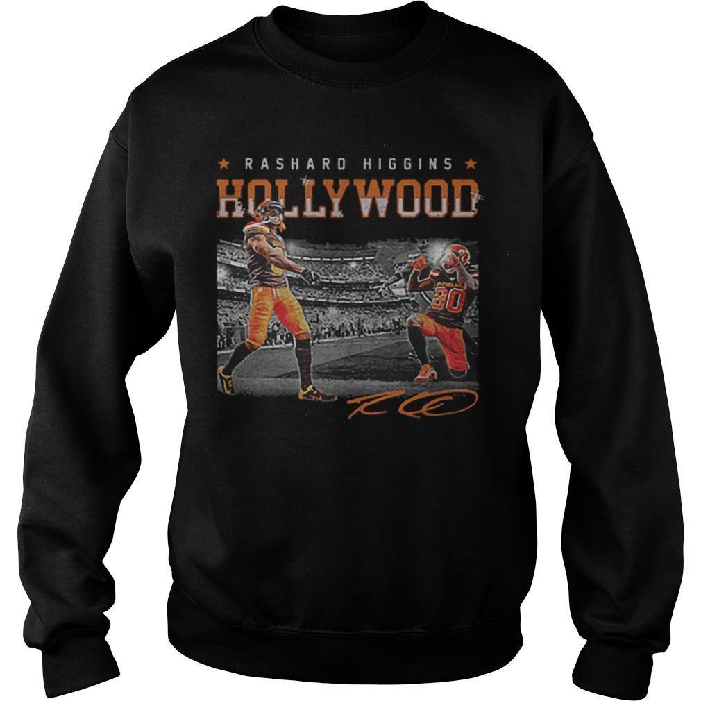 Cleveland Browns Rashard Higgins Hollywood Signature Sweater