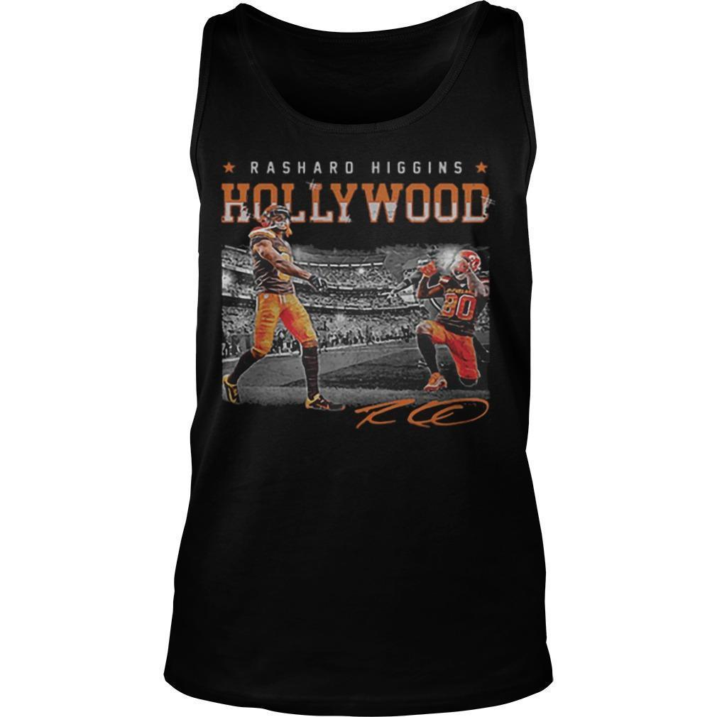 Cleveland Browns Rashard Higgins Hollywood Signature Tank Top