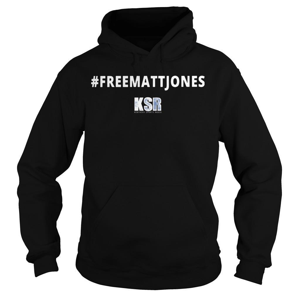 #Freemattjones Ksr Hoodie