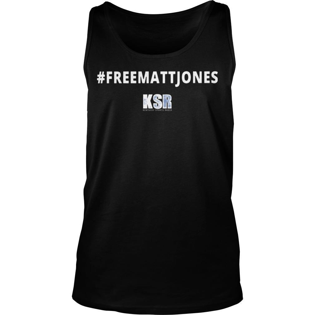 #Freemattjones Ksr Tank Top
