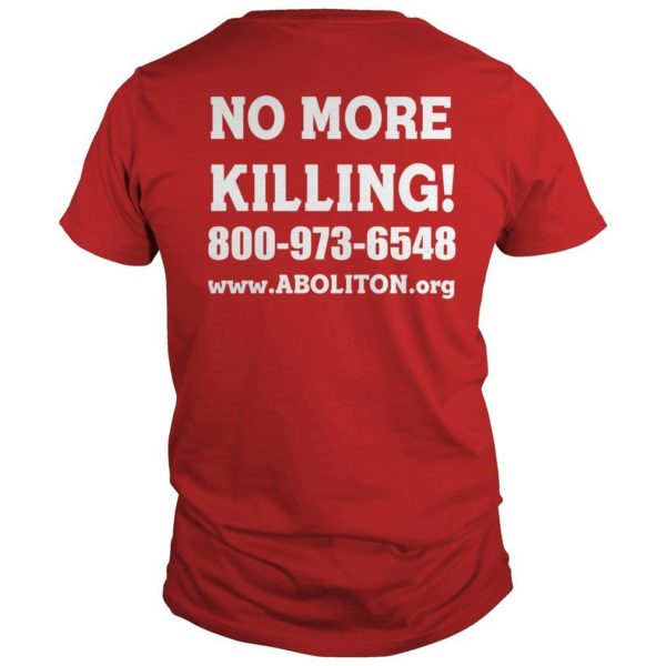 Governor's Mansion Stop Executions Now Shirt