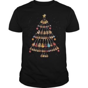 Guitar Christmas Tree Shirt