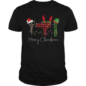 Hairdressing Tools Merry Chritsmas Shirt