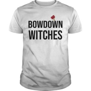 Lorraine Halloween Bow Down Witches Slogan T Shirt