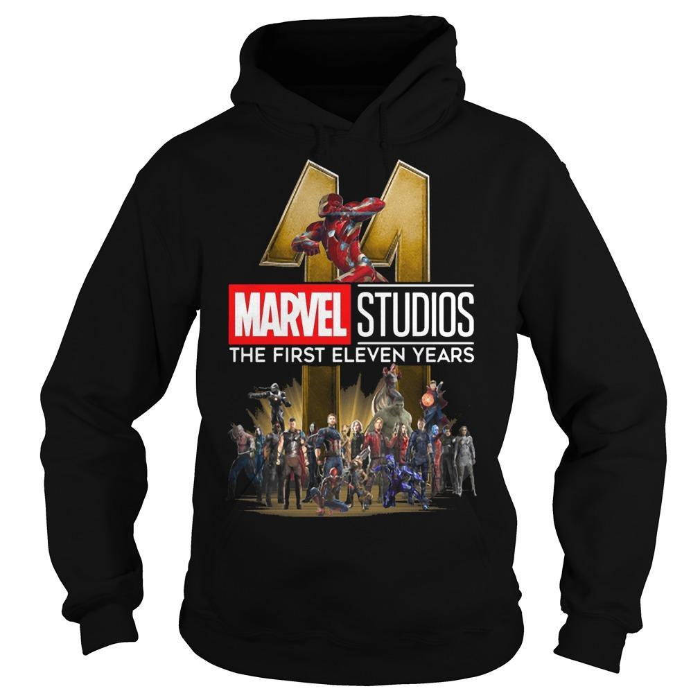 Marvel Studios The First Eleven Years Hoodie