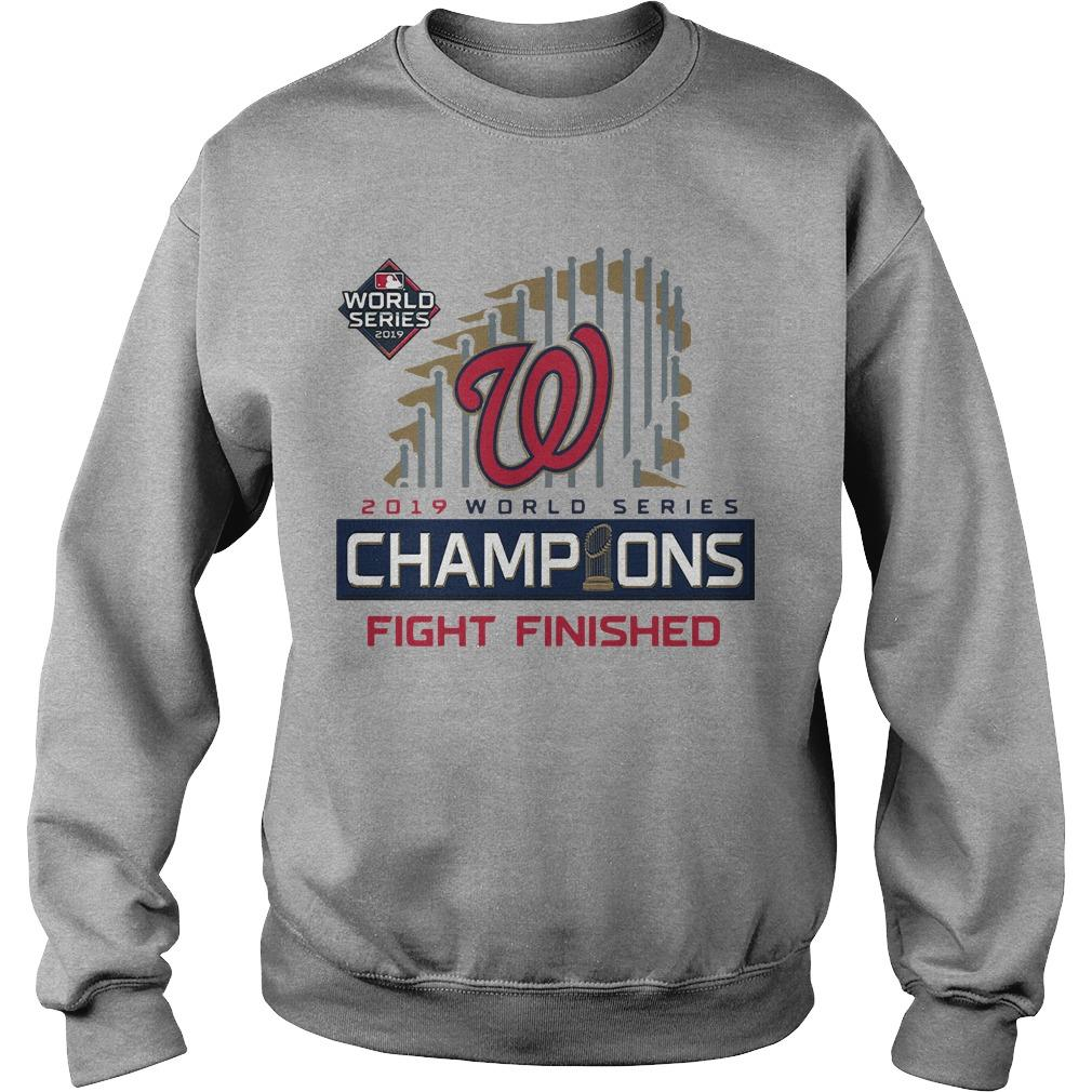 Nats World Series Sweater