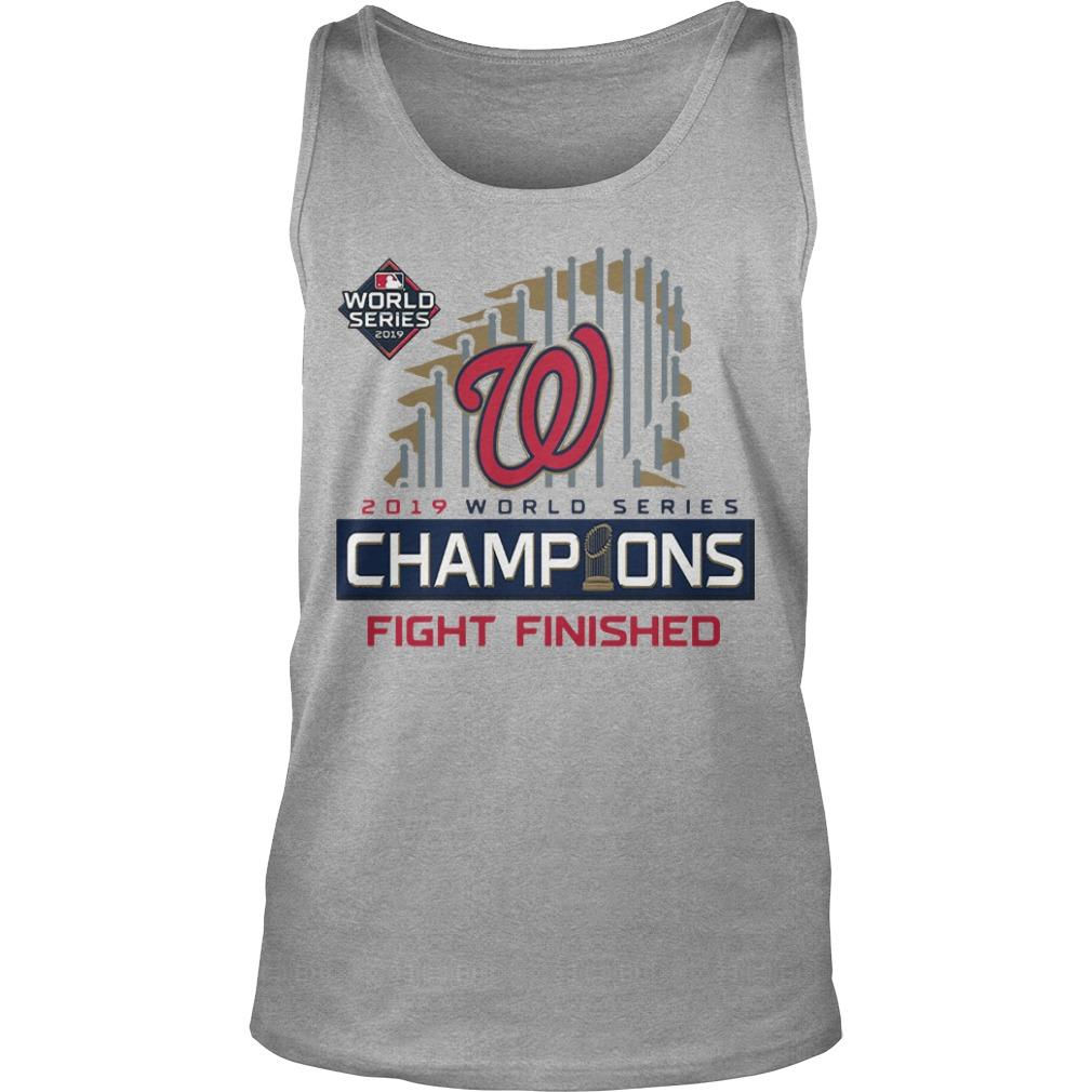 Nats World Series Tank Top