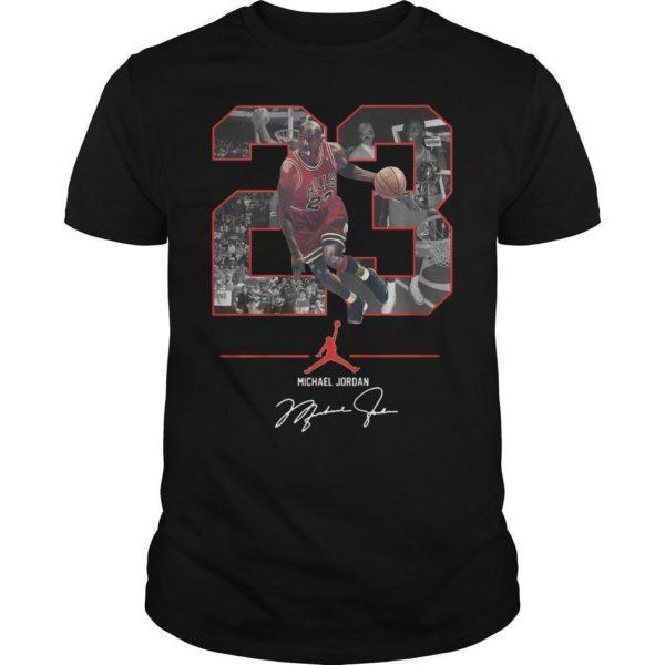 Nba 23 Michael Jordan Signature Shirt