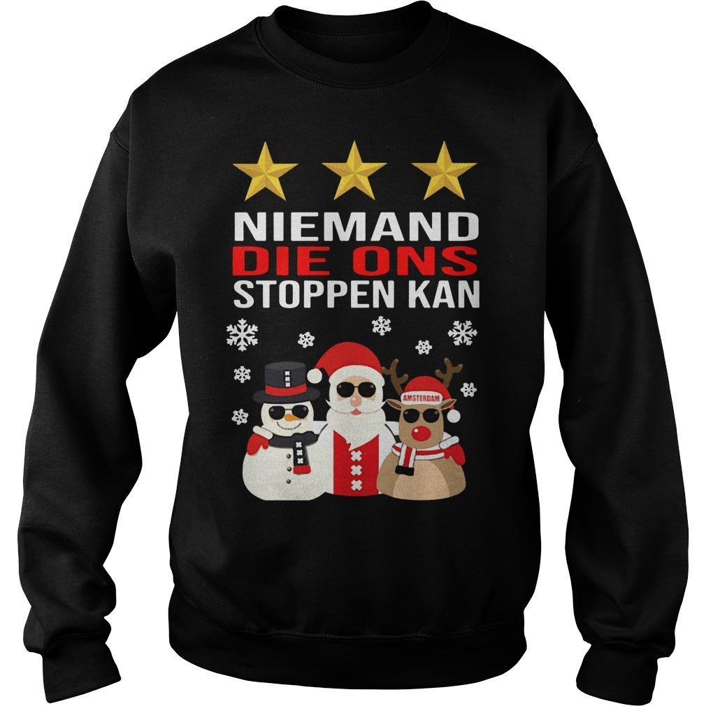 Niemand Die Ons Stoppen Kan Sweater