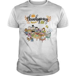 Snoopy Peanut Character Thanksgiving Shirt