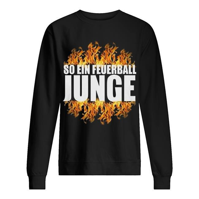 So Ein Feuerball Junge Sweater