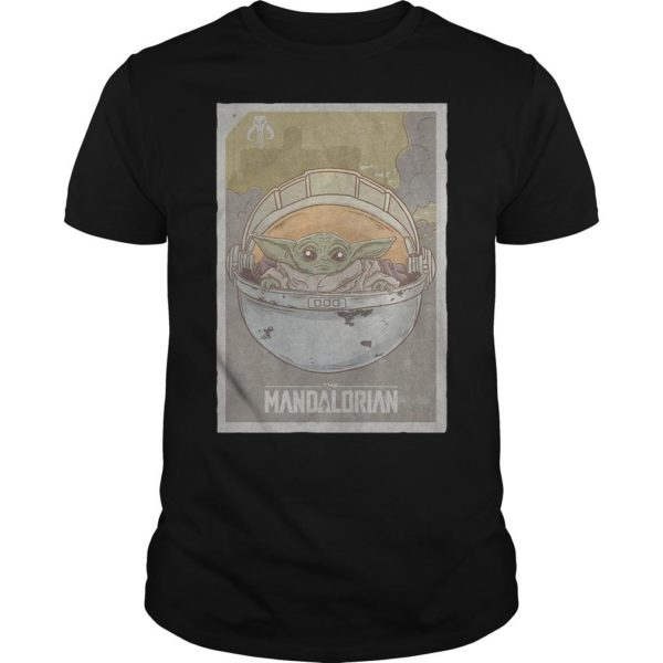 Star Wars The Mandalorian Baby Yoda Shirt
