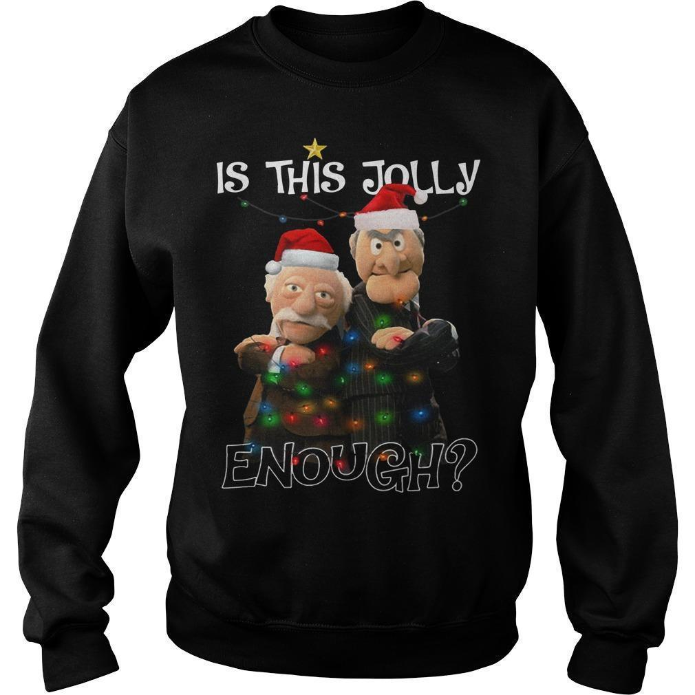 Statler And Waldorf Is This Jolly Enough Sweater