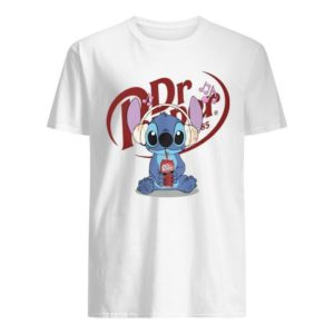 Stitch Listens To Music Drinking Dr Pepper Shirt