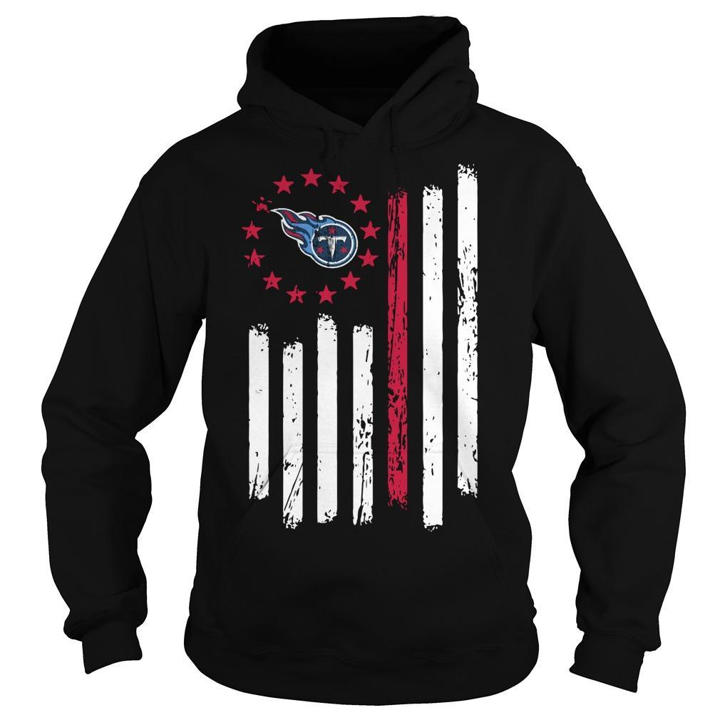 Tennessee Titans Betsy Ross T Hoodie