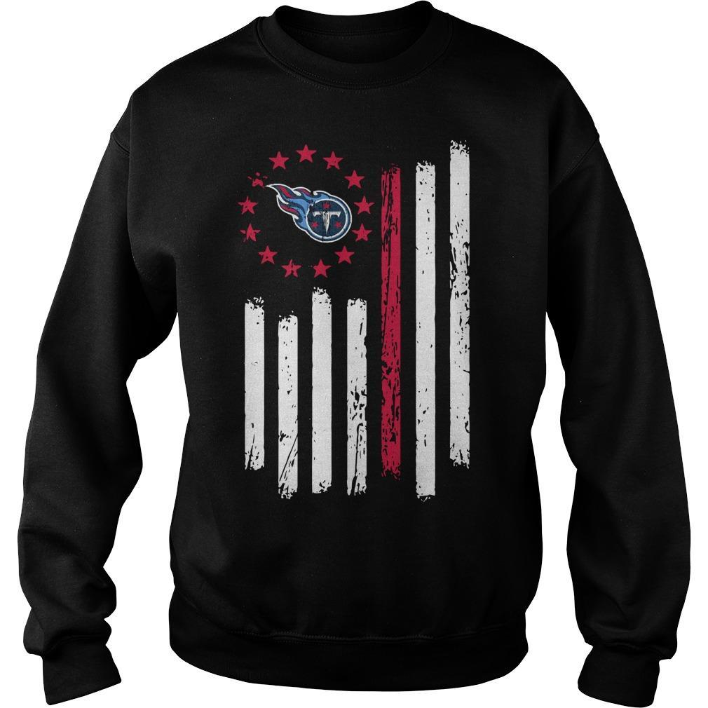 Tennessee Titans Betsy Ross T Sweater