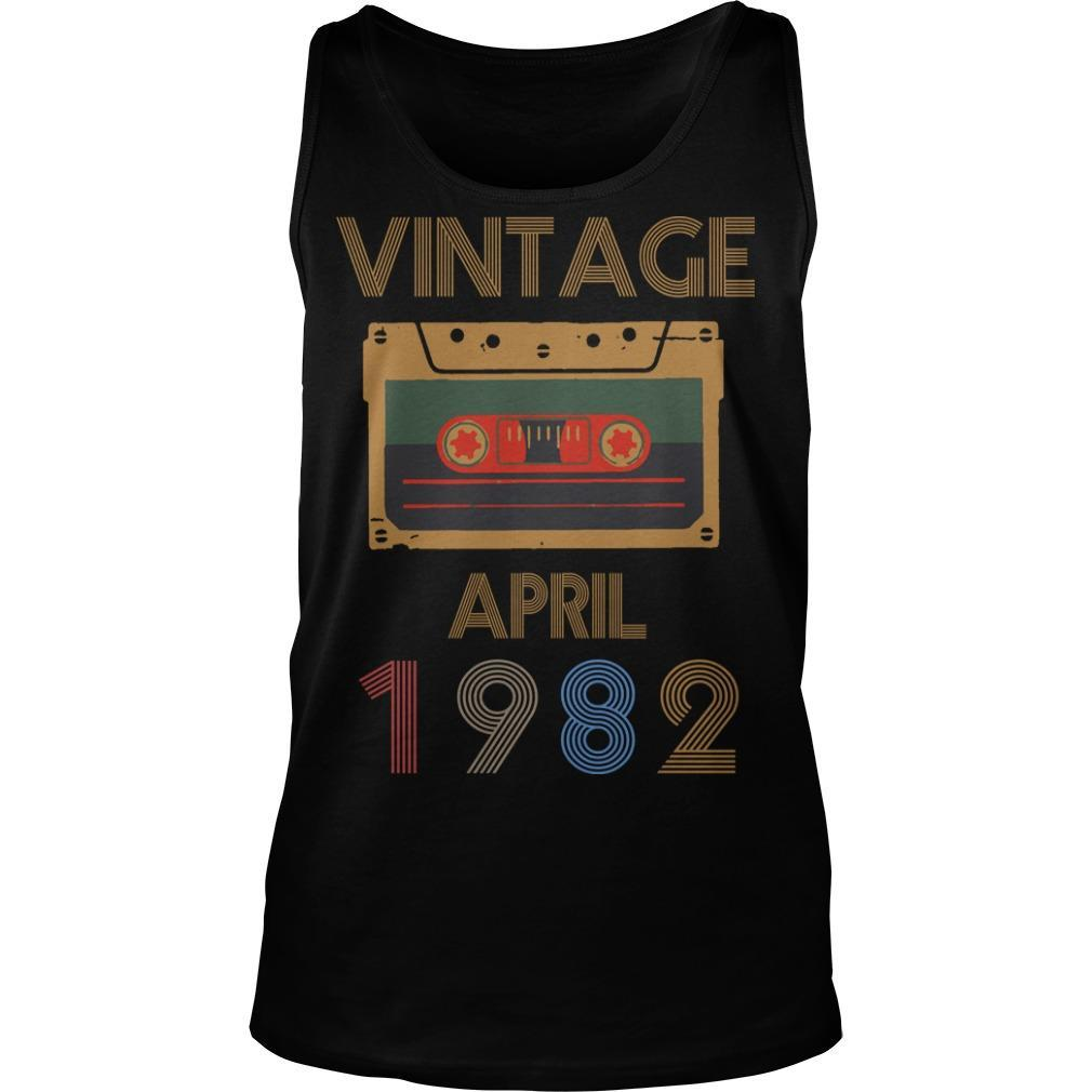 Video Tape Vintage April 1982 Tank Top