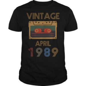 Video Tape Vintage April 1989 Shirt