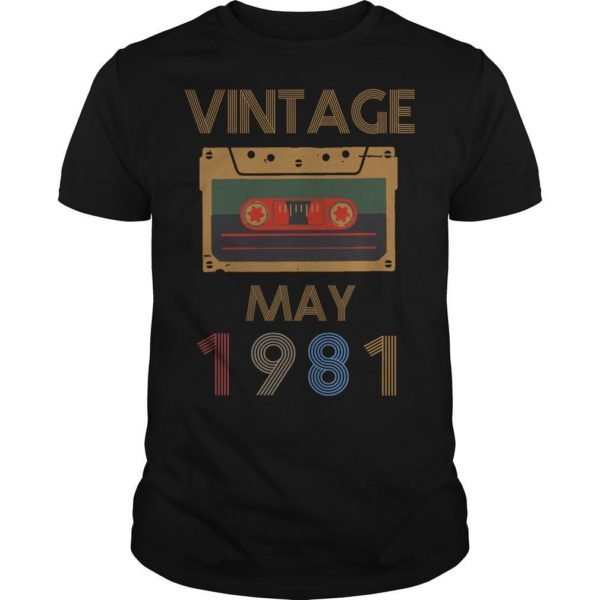 Video Tape Vintage May 1981 Shirt