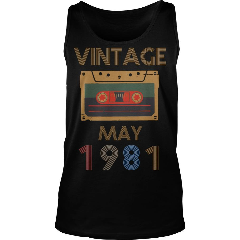 Video Tape Vintage May 1981 Tank Top