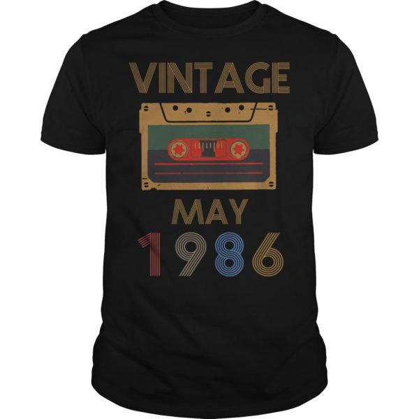 Video Tape Vintage May 1986 Shirt