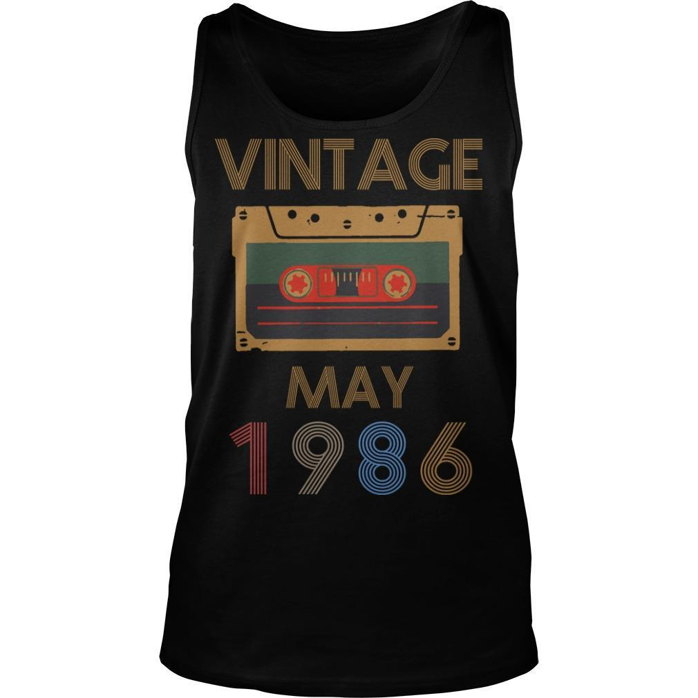 Video Tape Vintage May 1986 Tank Top