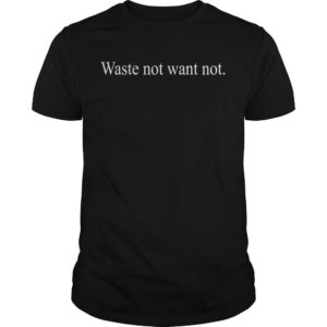Vogue And Public School Waste Not Want Not Shirt