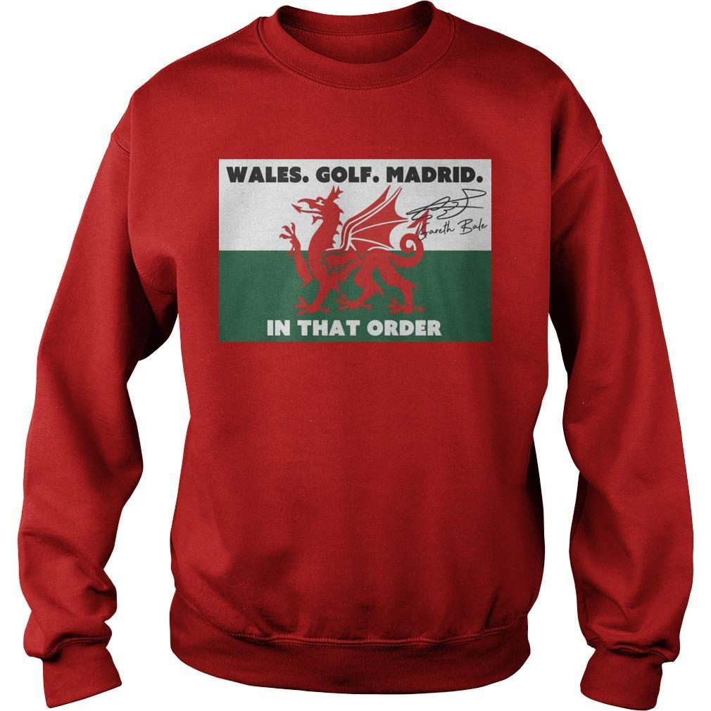 Wales Golf Madrid In That Order Sweater