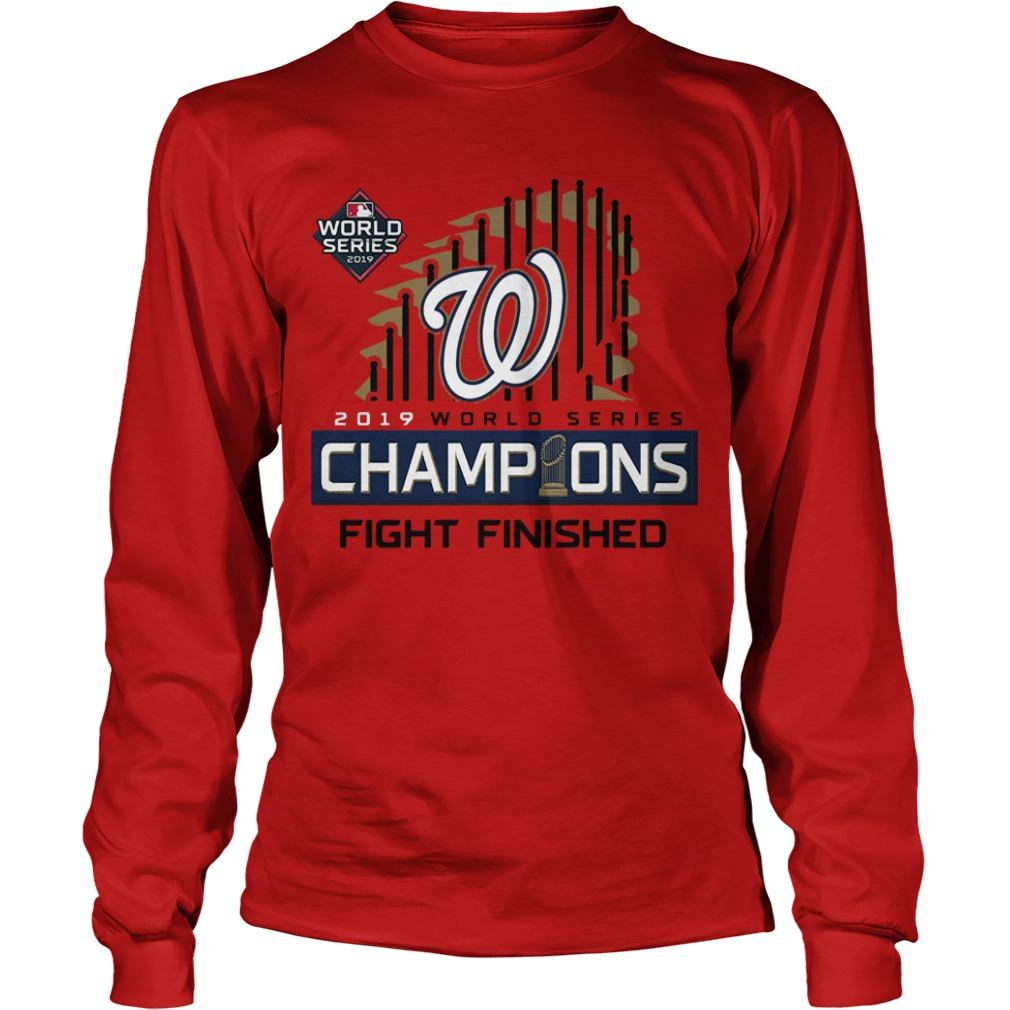 Washington Champions Fight Finished Longsleeve