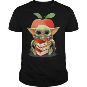 Baby Yoda And Teacher Shirt