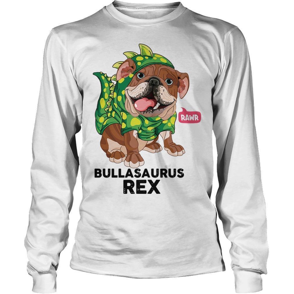 Bulldog Bulbasaurus Rex Longsleeve