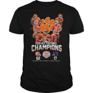 Clemson Tigers 2019 Acc Football Champions Shirt