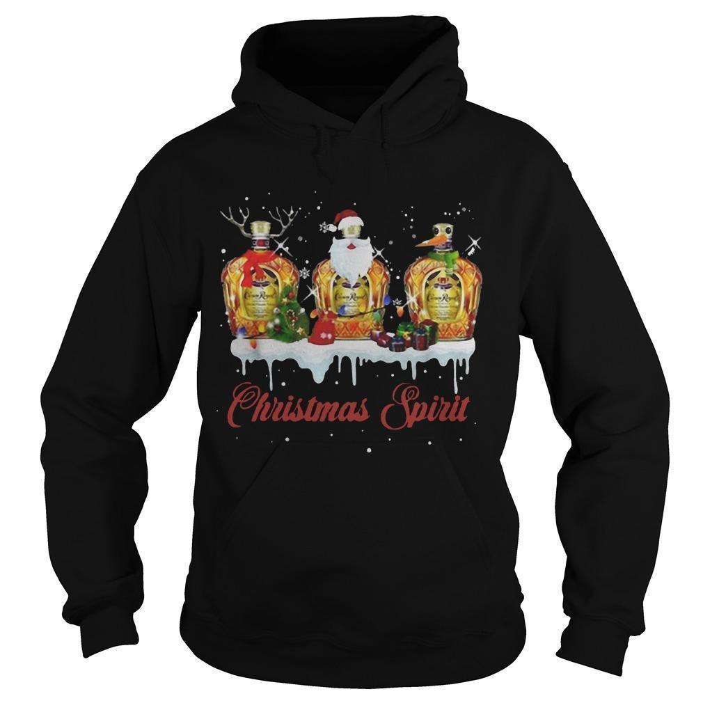 Crown Royal Whisky Christmas Spirit Hoodie